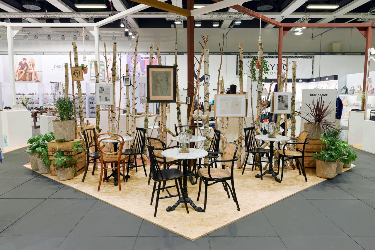 Interieurfotografie und Ausstellungsansichten aus Berlin Berlin Fashion Week Panorama
